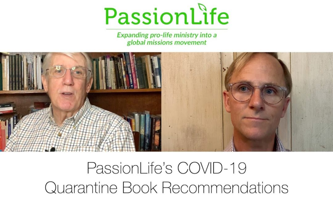 PassionLife's COVID-19 quarantine book recommendations